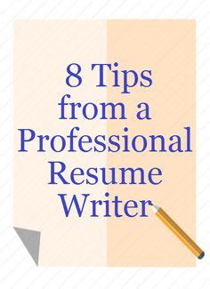 Tips on resume objectives